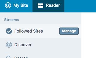 Using the WordPress App as a FeedReader