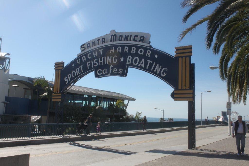 Santa Monica Pier by Susan T Braithwaite